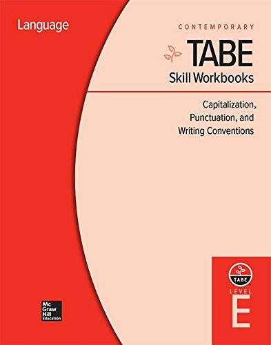 9780076603398: TABE Level E: Capitalization, Punctuation, and Writing Conventions - 10 Pack