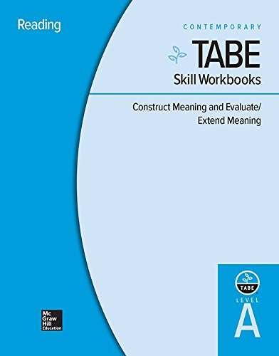 9780076603763: Tabe Level A: Construct Meaning and Evaluate/Extend Meaning - 10 Pack