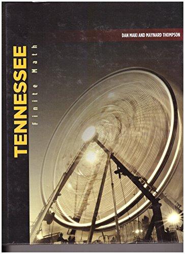 9780076604005: Tennessee: Finite Math