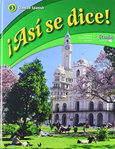 9780076604258: ¡Asi se dice! Level 3, Student Edition (Spanish Edition)