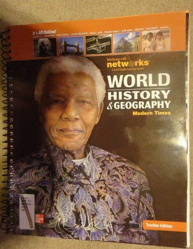 9780076605767: World History and Geography Modern Times Te