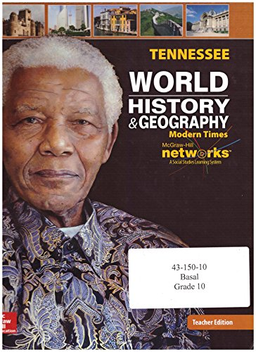 9780076607464: Tennessee World History and Geography Teacher Edition