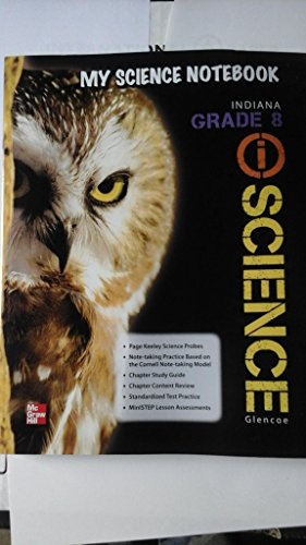 9780076608126: My Science Notebook Indiana Grade 8 Science
