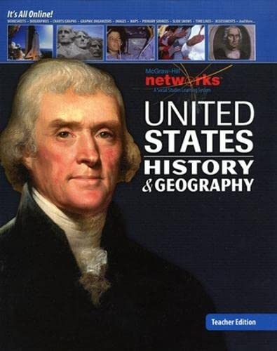 9780076608188: United States History and Geography, Teacher Edition