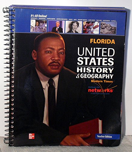 9780076609444: United States History & Geography: Modern Times, Florida Teacher Edition