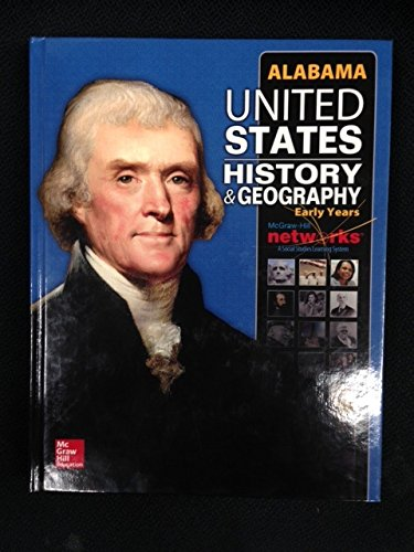 9780076609604: United States History & Geography - Early Years - Alabama Student Edition