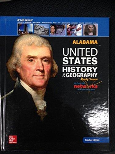 9780076609727: United States History & Geography - Alabama Teacher's Edition