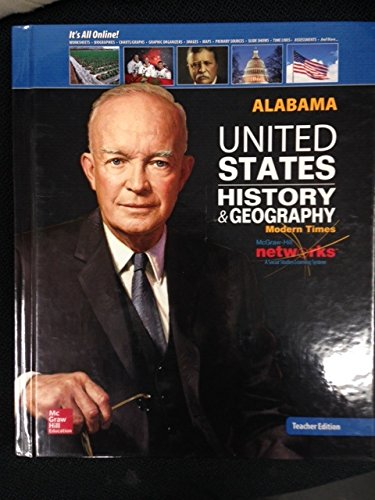 9780076609826: United States History & Geography, Modern Times, Alabama Teacher Edition