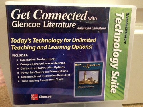 9780076612185: Technology Suite for Glencoe Literature - American Literature #007661218x