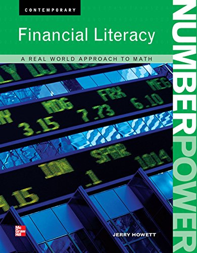 9780076613489: Financial Literacy. A Real World Approach to Math. (Contemporary. Financial Literacy.)