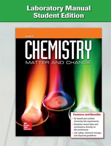 9780076613656: Chemistry: Matter and Change