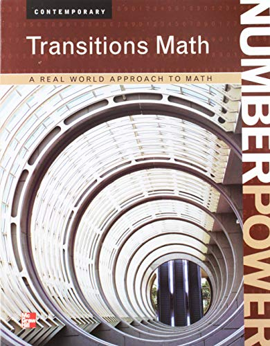 9780076614998: Number Power: Transition Math