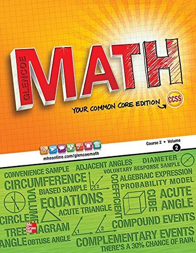 9780076619030: GLENCOE MATH COURSE 2 STUDENT (Math Applic & Conn Crse)