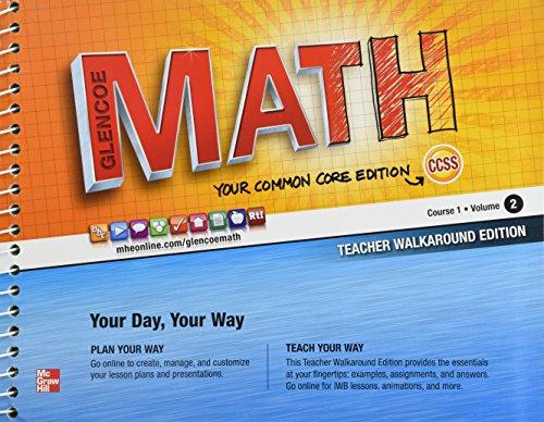 9780076619061: Glencoe Math Common Core, Course 1 Volume 2 ...
