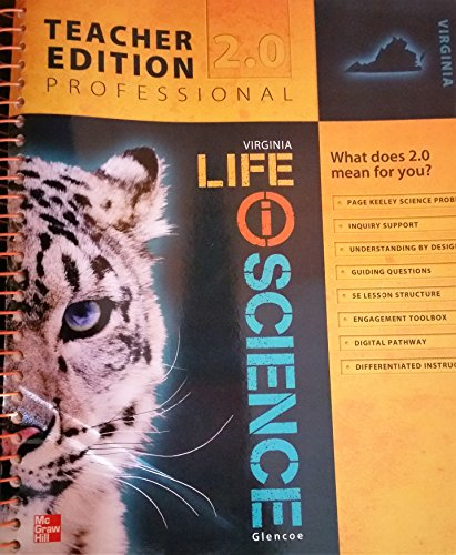 9780076620418: Life Science (Virginia Edition) Teacher Edition Professional 2.0