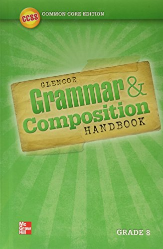 9780076624492: Grammar and Composition Handbook, Grade 8 (Writer's Workspace)