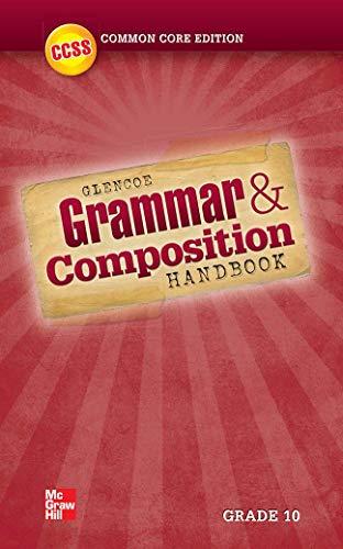 9780076624515: Grammar and Composition Handbook, Grade 10 (WRITER'S WORKSPACE)