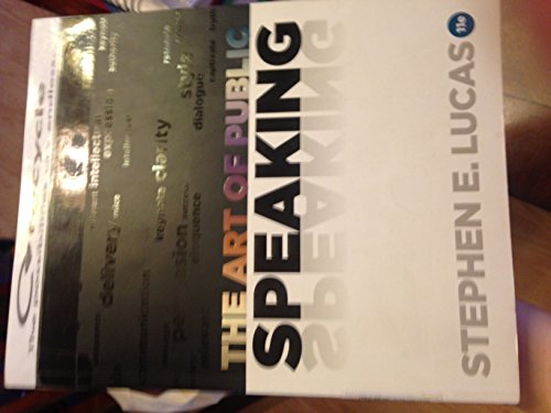 9780076626878: The Art of Public Speaking (Eleventh Edition)