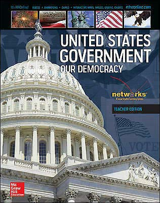 9780076634521: United States Government our Democracy TE