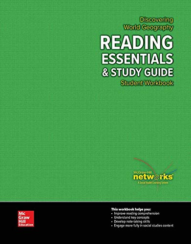 9780076636082: Discovering World Geography, Reading Essentials and Study Guide, Student Workbook (GEOGRAPHY: WORLD & ITS PEOPLE)