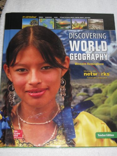 9780076636181: Discovering World Geography Western Hemisphere 2014 Teacher Edition
