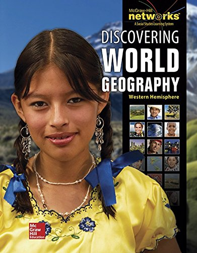 9780076636198: Discovering World Geography, Western Hemisphere, Reading Essentials and Study Guide, Student Workbook (GEOGRAPHY: WORLD & ITS PEOPLE)