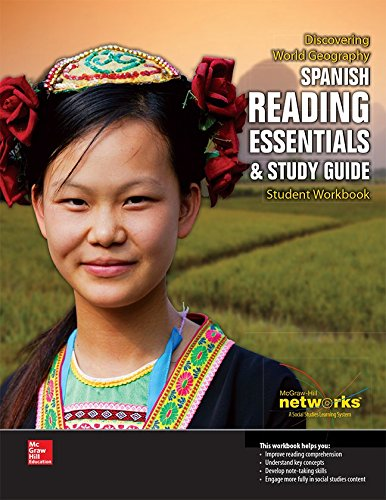 9780076636259: Discovering World Geography, Spanish Reading Essentials and Study Guide, Student Workbook (GEOGRAPHY: WORLD & ITS PEOPLE) (Spanish Edition)