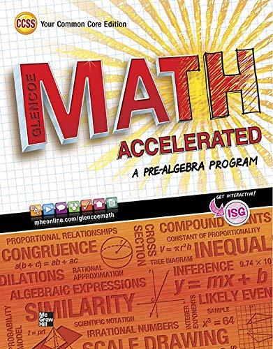 9780076637980: Glencoe Math Accelerated, Student Edition (Merrill Pre-Algebra)