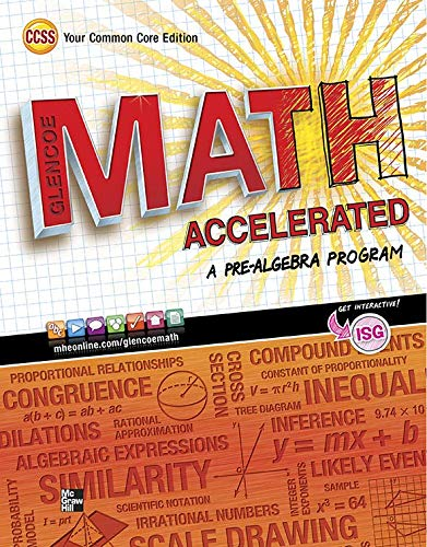 9780076637980: Glencoe Math Accelerated, Student Edition (MERRILL PRE-ALGEBRA)