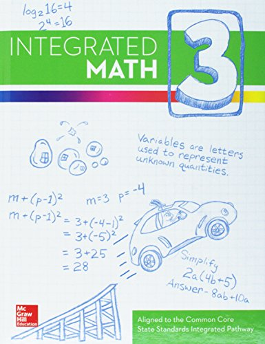 9780076638529: Integrated Math, Course 3, Student Edition