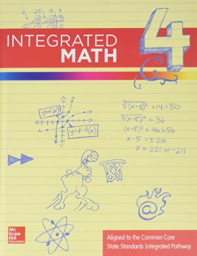9780076638550: Integrated Math, Course 4, Student Edition