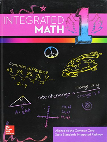 9780076638581: Integrated Math, Course 1, Student Edition
