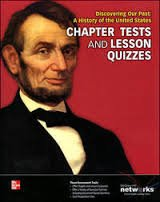 9780076639663: Chapter Tests and Lesson Quizzes (Discovering our Past: A History of the United States)