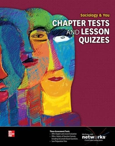 9780076640690: Sociology & You, Chapter Tests and Lesson Quizzes (NTC: Sociology & You)