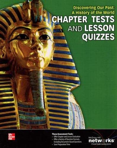 9780076641284: Discovering Our Past: A History of the World, Chapter Tests and Lesson Quizzes (MS WORLD HISTORY)