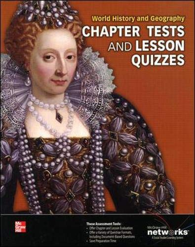 World History and Geography, Chapter Tests and Lesson Quizzes (Human Experience - Early Ages): ...