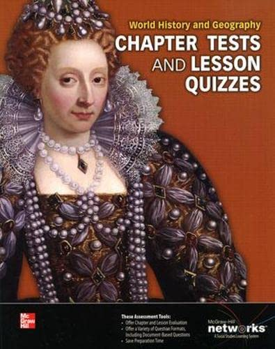 9780076641307: World History and Geography, Chapter Tests and Lesson Quizzes ) 2013