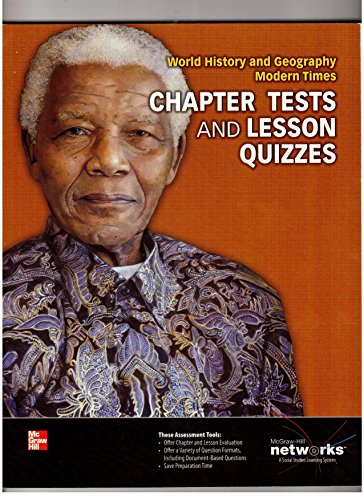 9780076641314: Chapter Tests and Lesson Quizzes (World History and Geography Modern Times)