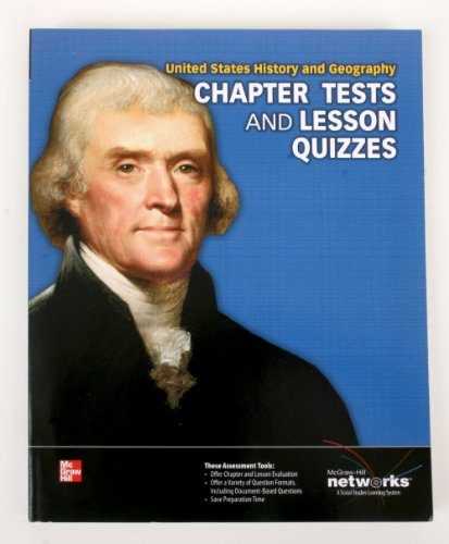 Chapter Tests and Unit Quizzes (United States History and Geography): McGraw-Hill