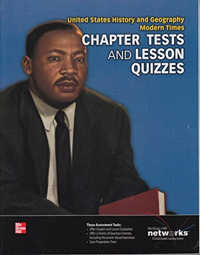 9780076641338: Chapter Tests and Lesson Quizzes (United States History and Geography Modern Times)