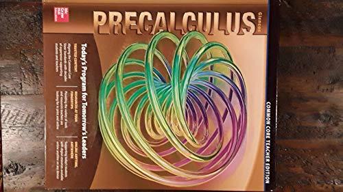 9780076642038: Glencoe Precalculus: Common Core Teacher Edition