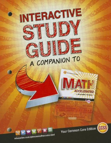 9780076644483: Glencoe Math Accelerated, Interactive Study Guide (MERRILL PRE-ALGEBRA)