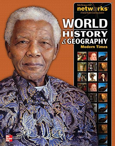 9780076647385: World History and Geography: Modern Times, Student Edition (Mcgraw-Hill Networks-a Social Studies Learning System)
