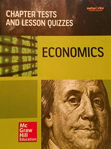 9780076653980: Economics Chapter Test and Lesson Quizzes Teks Networks