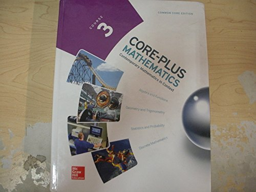 9780076657964: CORE-PLUS MATHEMATICS COURSE 3