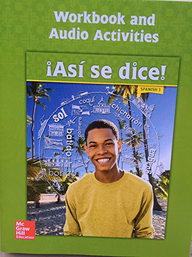 9780076668519: Asi Se Dice!, Level 3: With Audio Activities