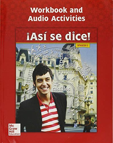 9780076668663: Asi se dice! Level 2, Workbook and Audio Activities