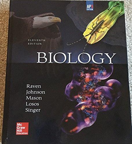 9780076672462 Raven Biology C 2017 11e Ap Edition Student