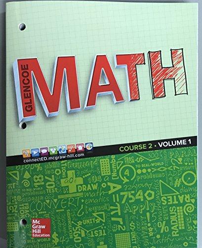 9780076683185: Glencoe Math 2016, Course 2 Student Edition