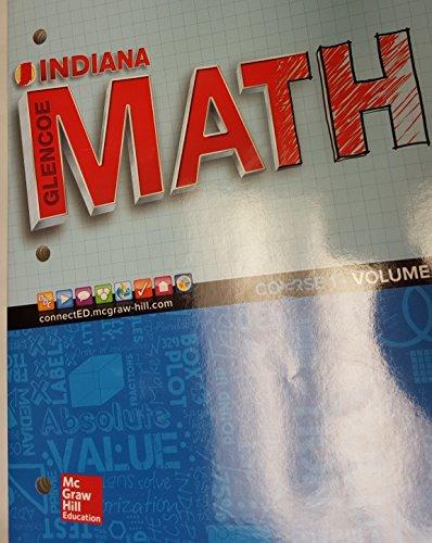 9780076721290: indiana glencoe math course 1 volume 1 - AbeBooks